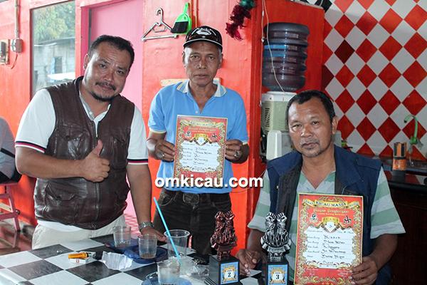 H Bambang orbitkan murai batu Gultom dan Radok