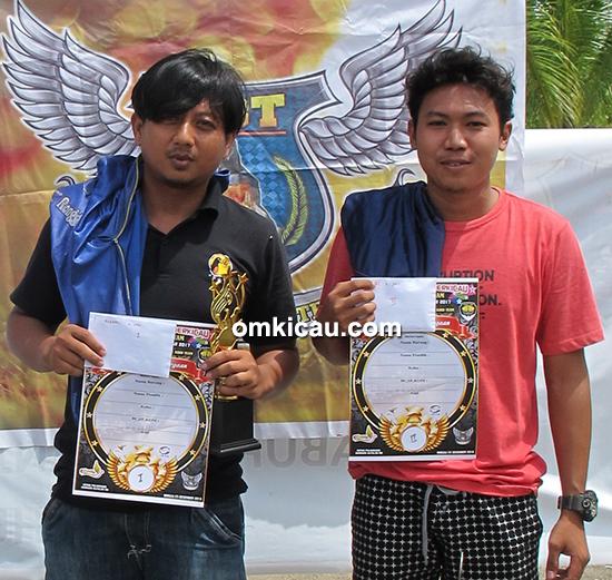 Lomba burung Piala Tungkal Team