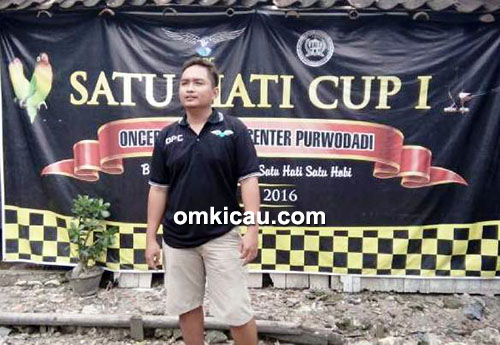 Om Bayu, ketua panitia Latpres Satu Hati