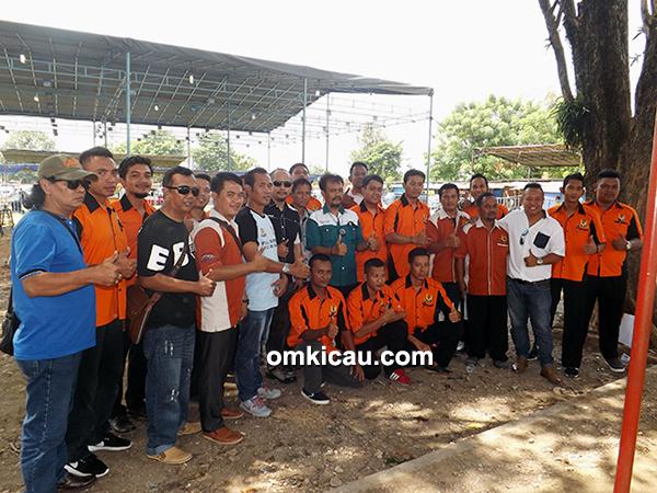 Panitia Piala Dandim 0733/BS Semarang