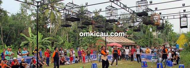 Launching Lapangan Satria Berkicau (Sakau) Jambi