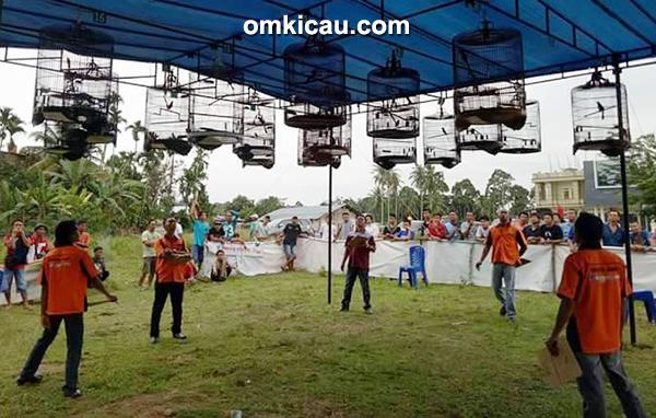 Latpres Senandung Ronggolawe di Lapangan SBS Bangko