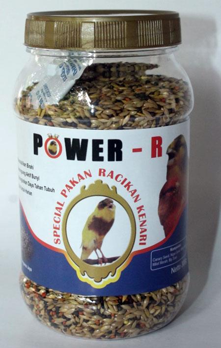 POWER-R Pakan Kenari Harian
