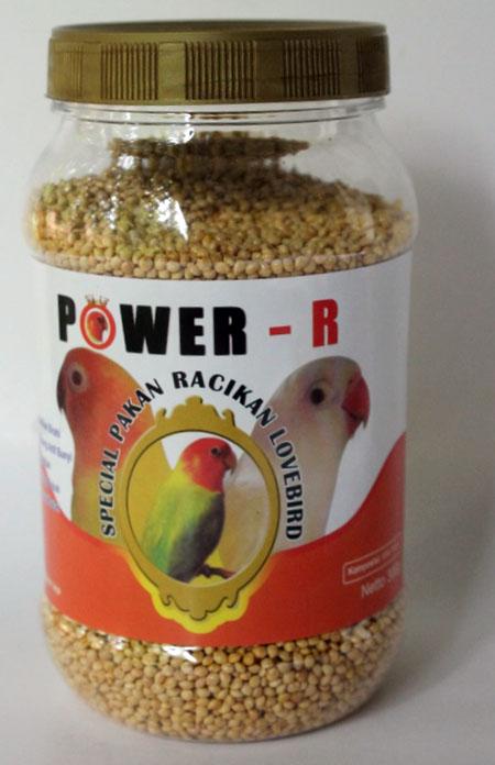 POWER-R Pakan Lovebird Harian