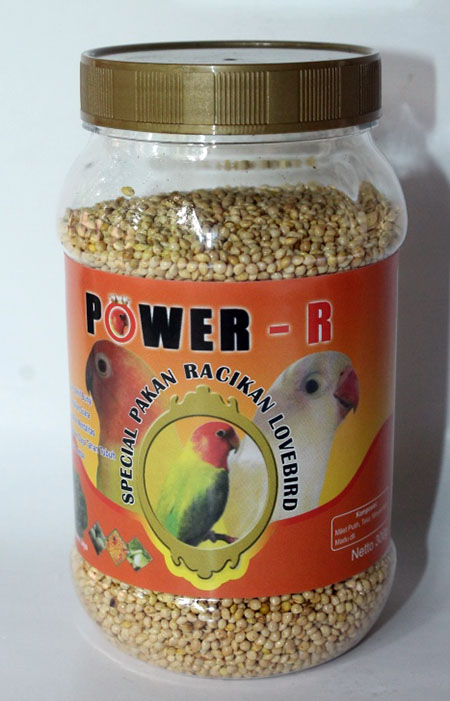 POWER-R Pakan Lovebird Lomba - Polosan