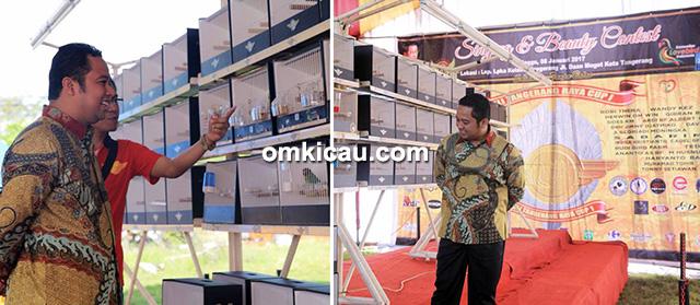 Lovebird beauty contest KLI Tangerang Raya Cup 1