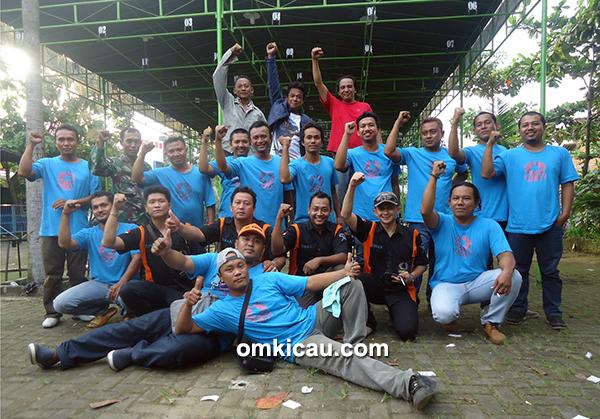 Kru panitia dan tim juri Tiara BC Jepara