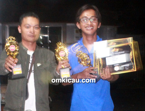 Juara ciblek The Queen Jogja Bay
