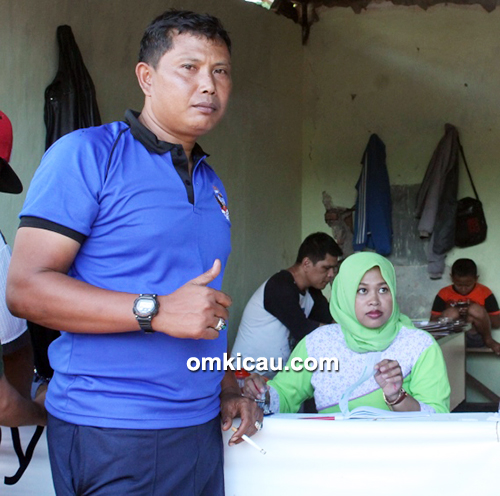 Om Untung, owner Ciganjur Enterprise