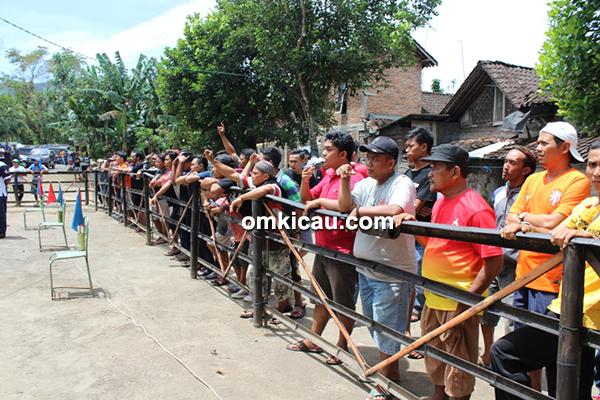 Lomba burung Borobudur Berkicau