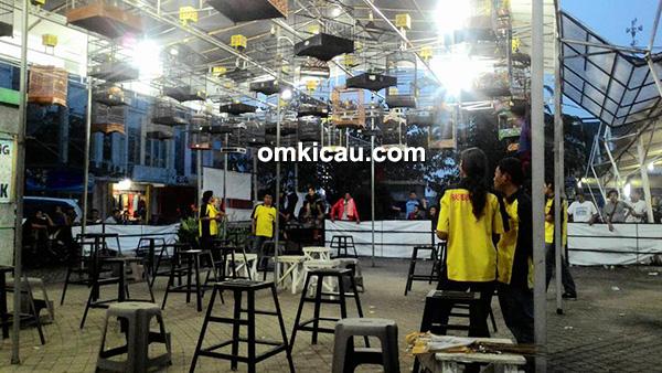 Gantangan Malam di RE Muci Tangerang