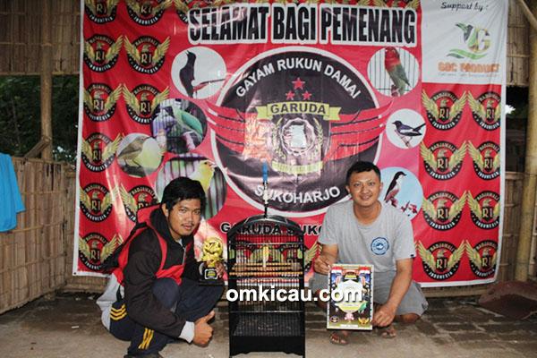 Kenari Spartan milik Om Fitra (Sembara Team)