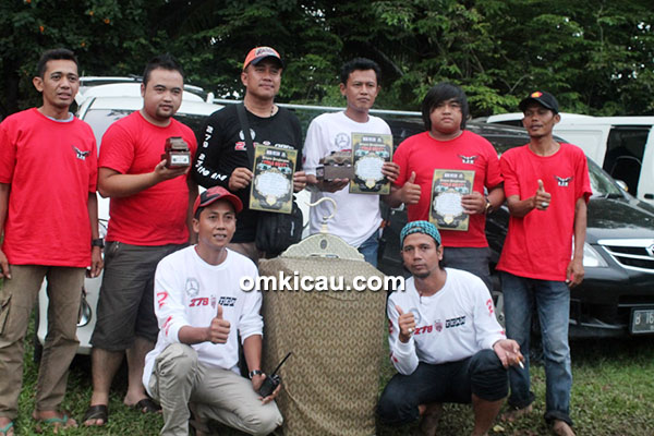 Om Budi Indo, pemilik pentet Top Speed