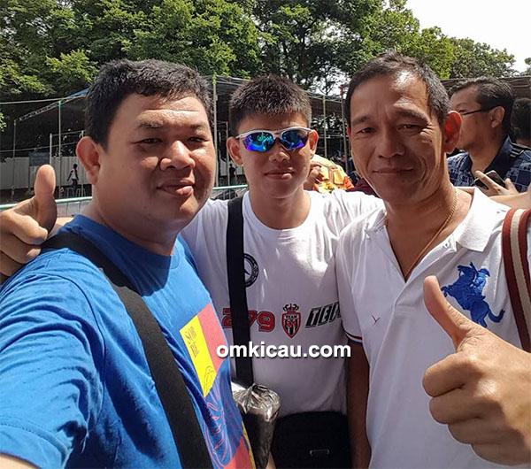 Om Eddy Huang bersama Om Johan Shia