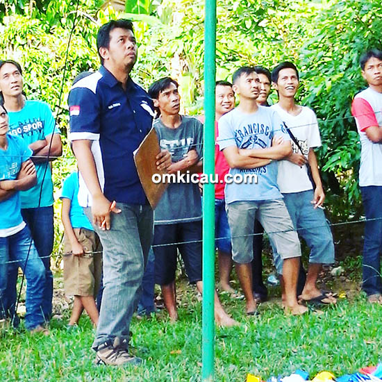 Om Rizal Firmansyah SH MH, ketua Radjawali Indonesia DPC Bungo