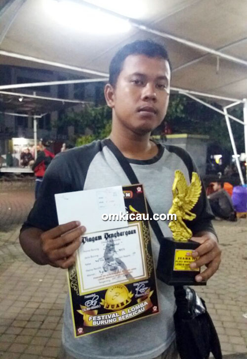 Juara 3 Kelas Pleci Wiksar