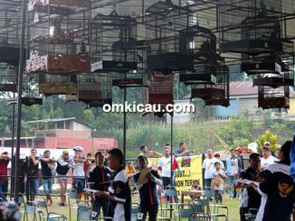 Lomba burung berkicau Pariwisata Cup Tawangmangu