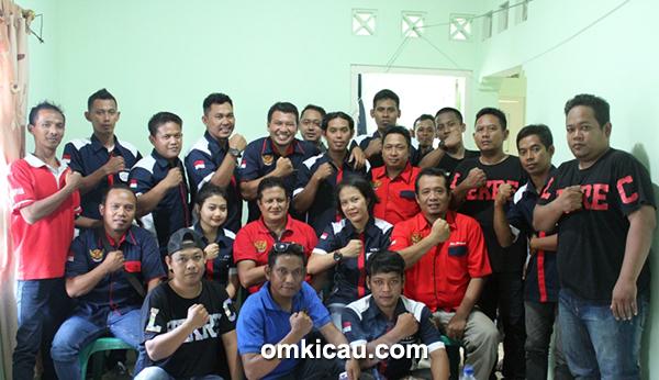 Panitia Lhekrec BC dan Tim Juri Radjawali Indonesia