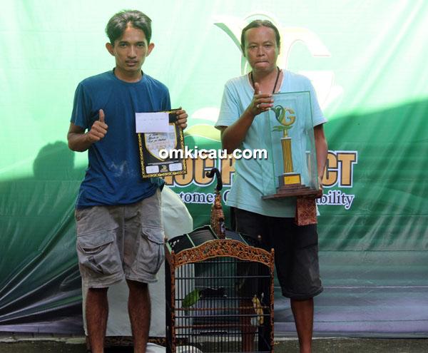 Cucak ijo Tugu Mataram
