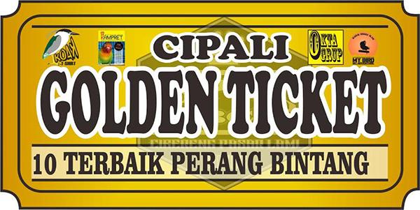 Cipali Golden Ticket