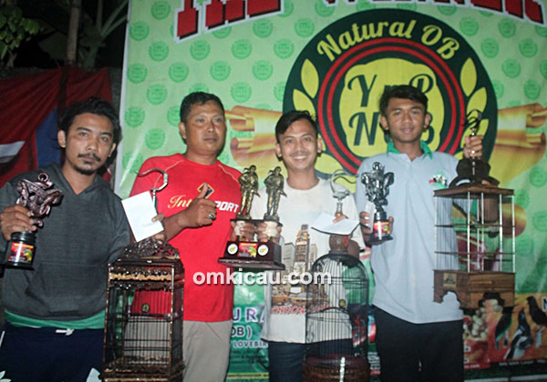 Lomba burung berkicau Ciganjur Single Fighter