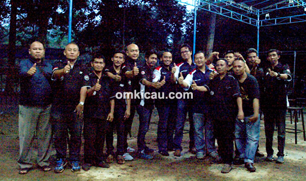 Panitia Launching Balitro bersama Juri BnR Indonesia (JBI).