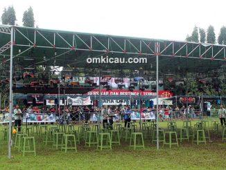 Lomba burung berkicau Piala Kujang Bogor