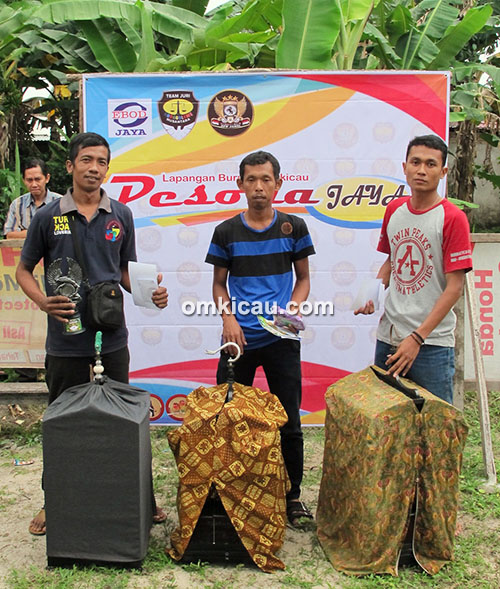 Ngobar Pesona Jambi-juara kapas tembak
