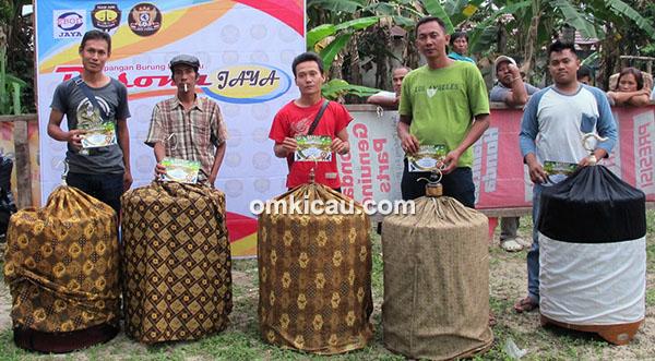 Ngobar Pesona Jambi-juara murai batu