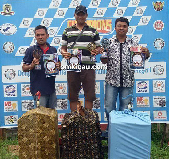 Lomba burung berkicau CD Cup II Bangko