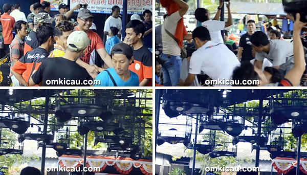 Lomba burung berkicau Prabu Cup 2 Tangerang