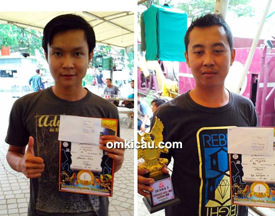 Latber RE Muci Tangerang-kelas cucak hijau