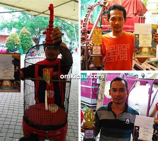 Latber RE Muci Tangerang-kelas lovebird