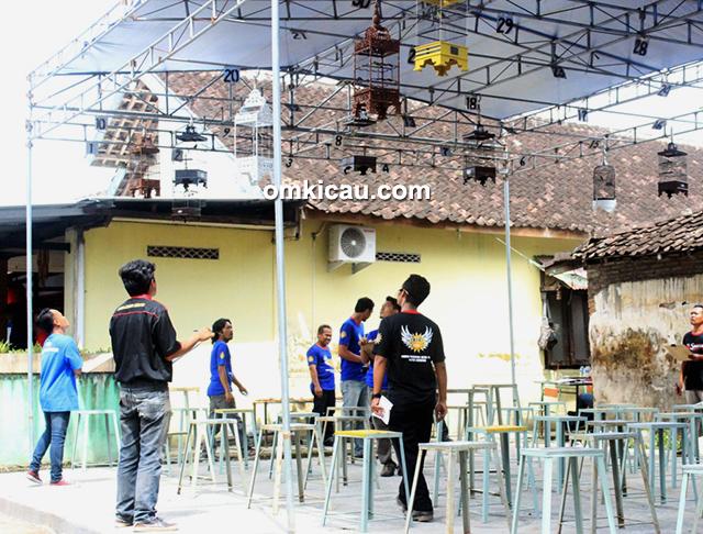 Lomba burung berkicau 1st Anniversary MJS Klaten