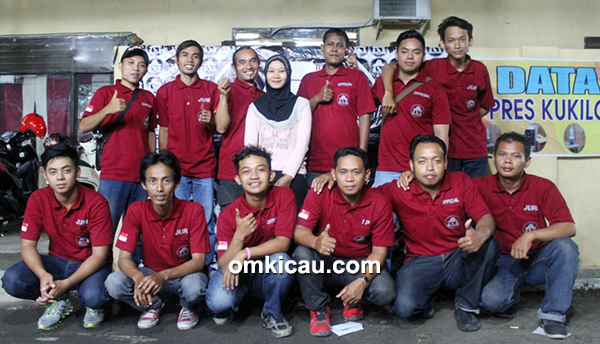 Panitia dan tim juri Latpres Malam Kukilo BC Sragen