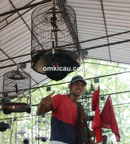 "Murai batu Anak Lanang milik Om Agus ""Pak Man"""