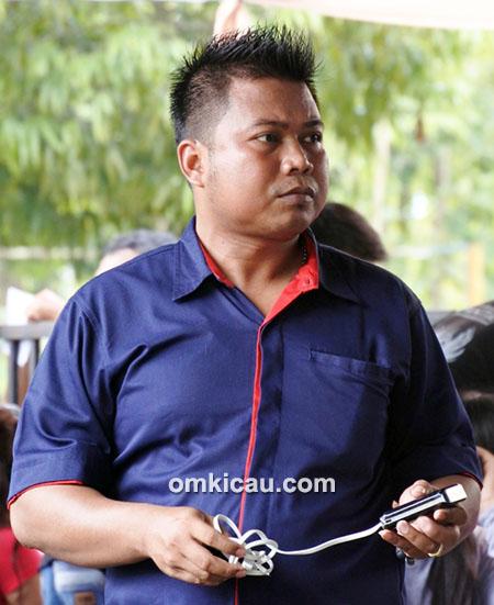 Bang Jabrig, ketua Radjawali Indonesia DPC Blora