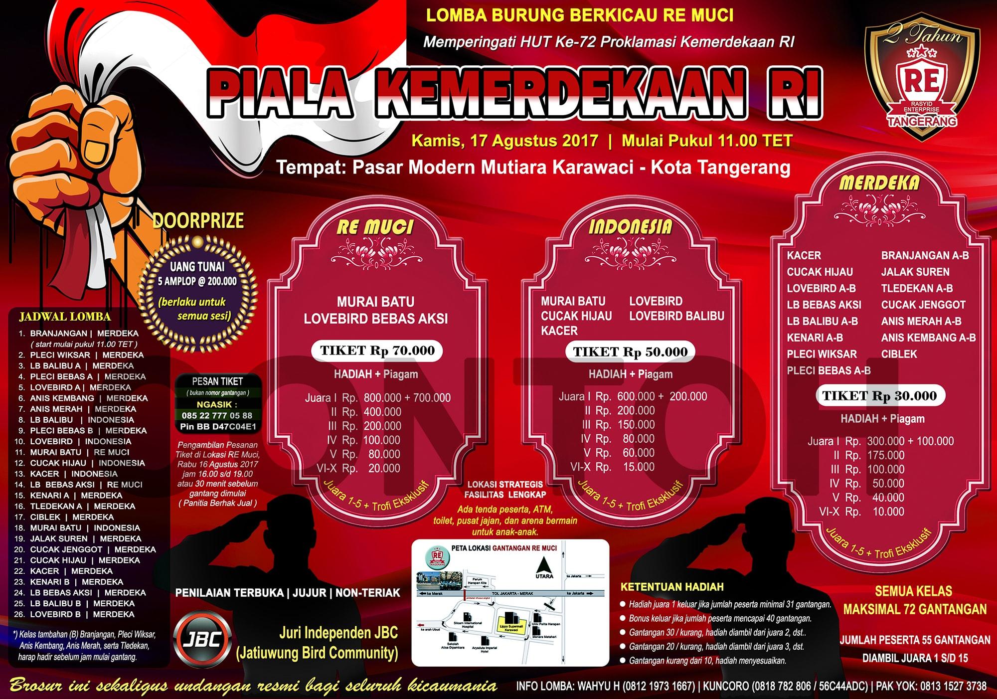 Jasa Desain Brosur Piagam Dan Logo Om Kicau