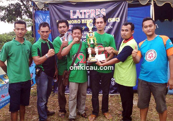 Greendoloe BC juara umum bird club