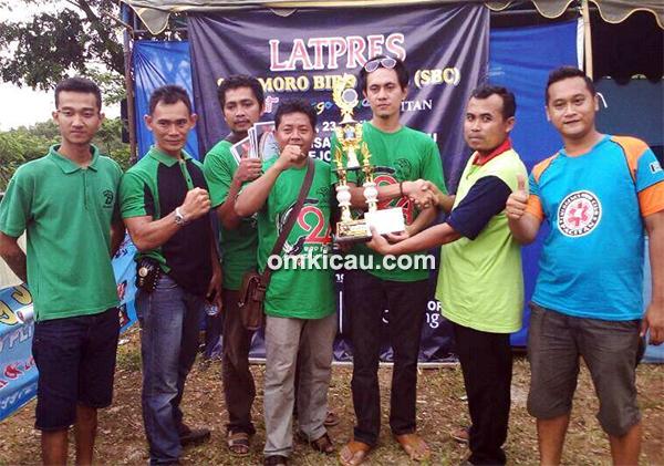 Greendoloe BC juara umum bird club