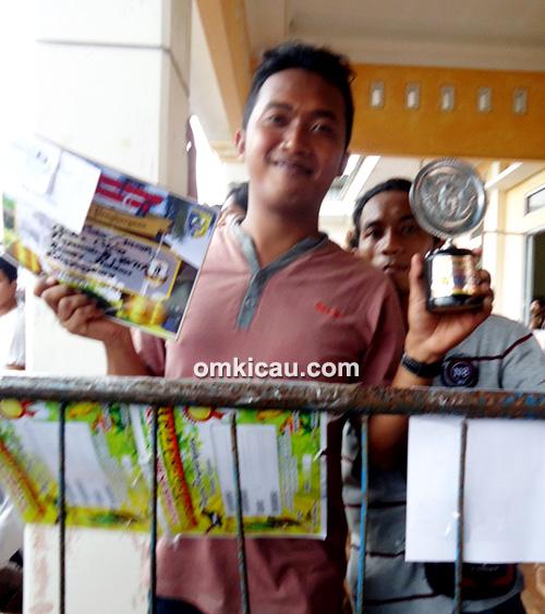 Kenari Gedex Celeng koleksi Rajawali SF Semarang