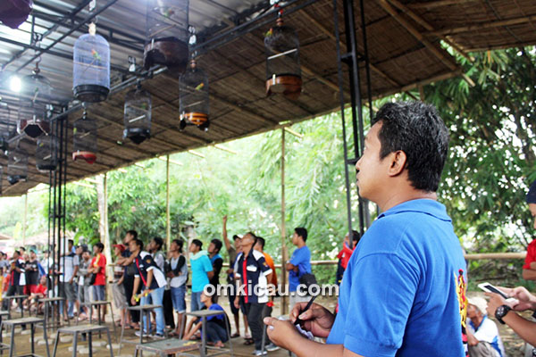 Om Andi, letua Radjawali Indonesia DPC Sukoharjo