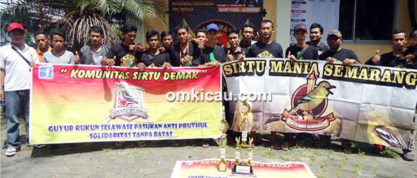 Komunitas Sirtu Demak dan Semarang