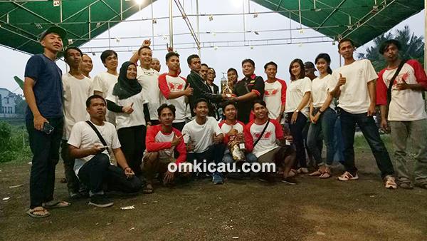 Lomba burung berkicau K-Ti Enterprise Jakarta