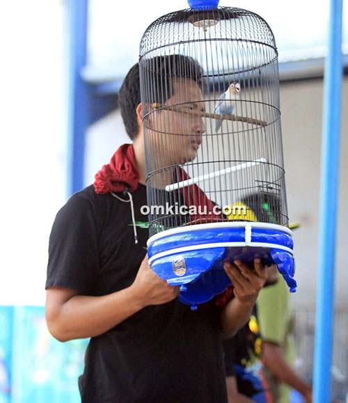 Lomba burung berkicau Transmart Cup 1 Jogja