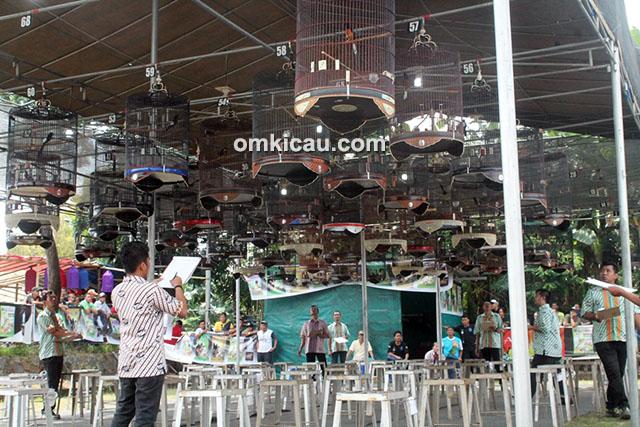 Lomba burung berkicau Piala Tirto Kukilo