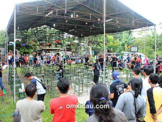 Lomba burung berkicau Anniversary AB-K Jogja