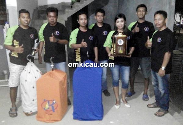 Duta Piala Borobudur eksis di Balok Ngabul Cup