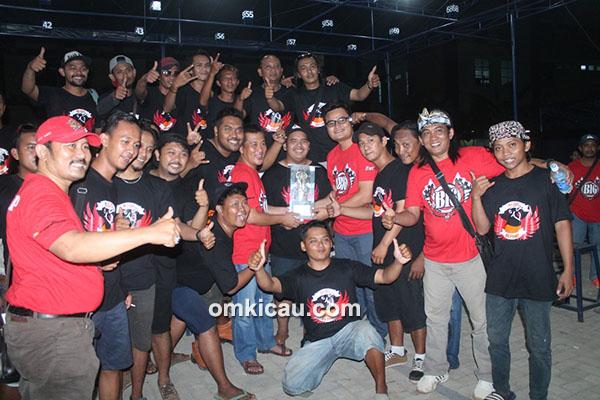 Betawi Team juara umum BC