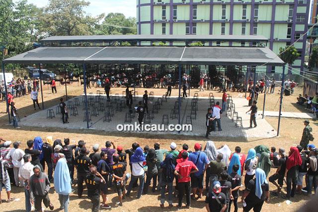 Lomba burung berkicau B16 Cup Tangerang